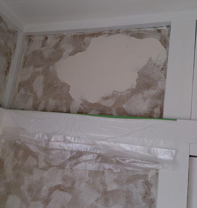 DIYで砂壁に漆喰 左官に挑戦