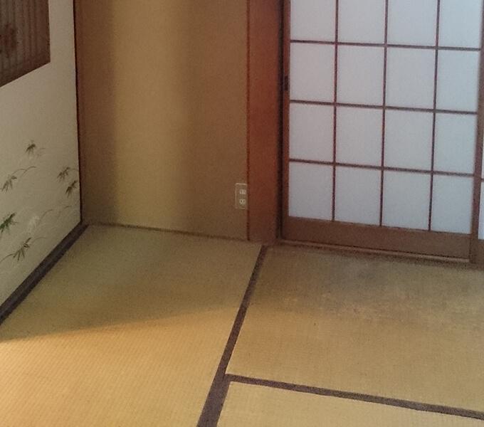 和室を洋室へ床DIY 元の畳部屋