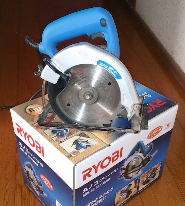 DIYで使う道具 電動丸ノコ