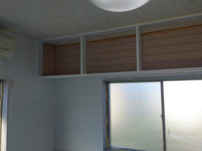 DIYで天井と壁にペンキを塗る