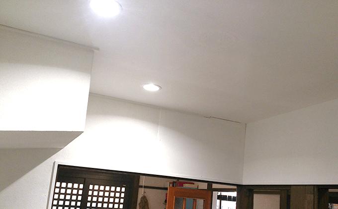 キッチンDIY大作戦 天井ペンキ塗り