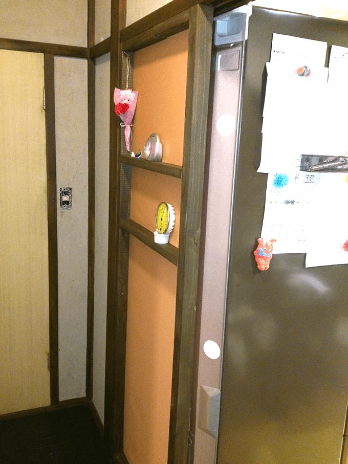 キッチンDIY大作戦 壁